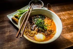 Noodles @Mokbar, NYC
