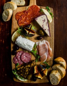 Charcuterie & Cheese board.