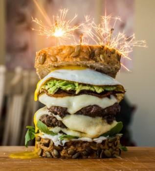 Burger Fireworks