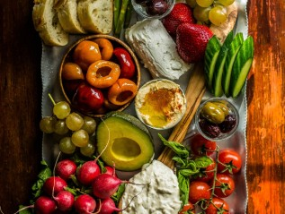 Cheese & Veggie board