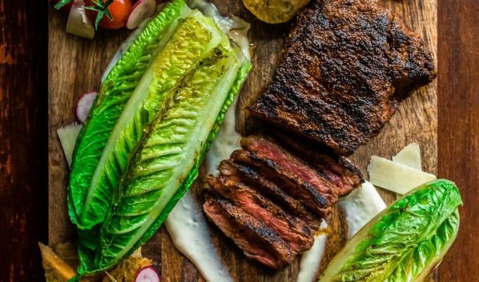 Date Night Grilled Steak CaesarSalad