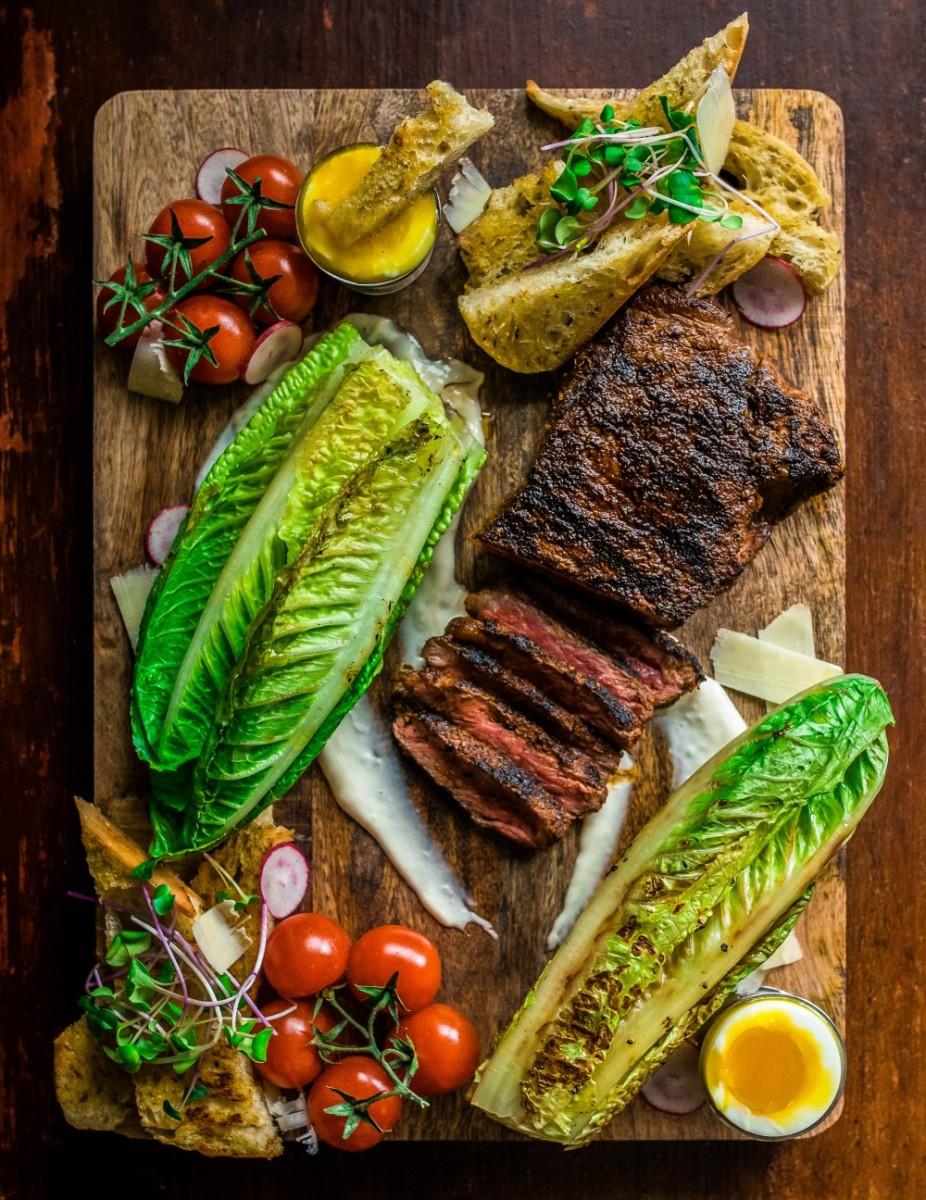 Date Night Grilled Steak Caesar Salad Dennis The Prescott