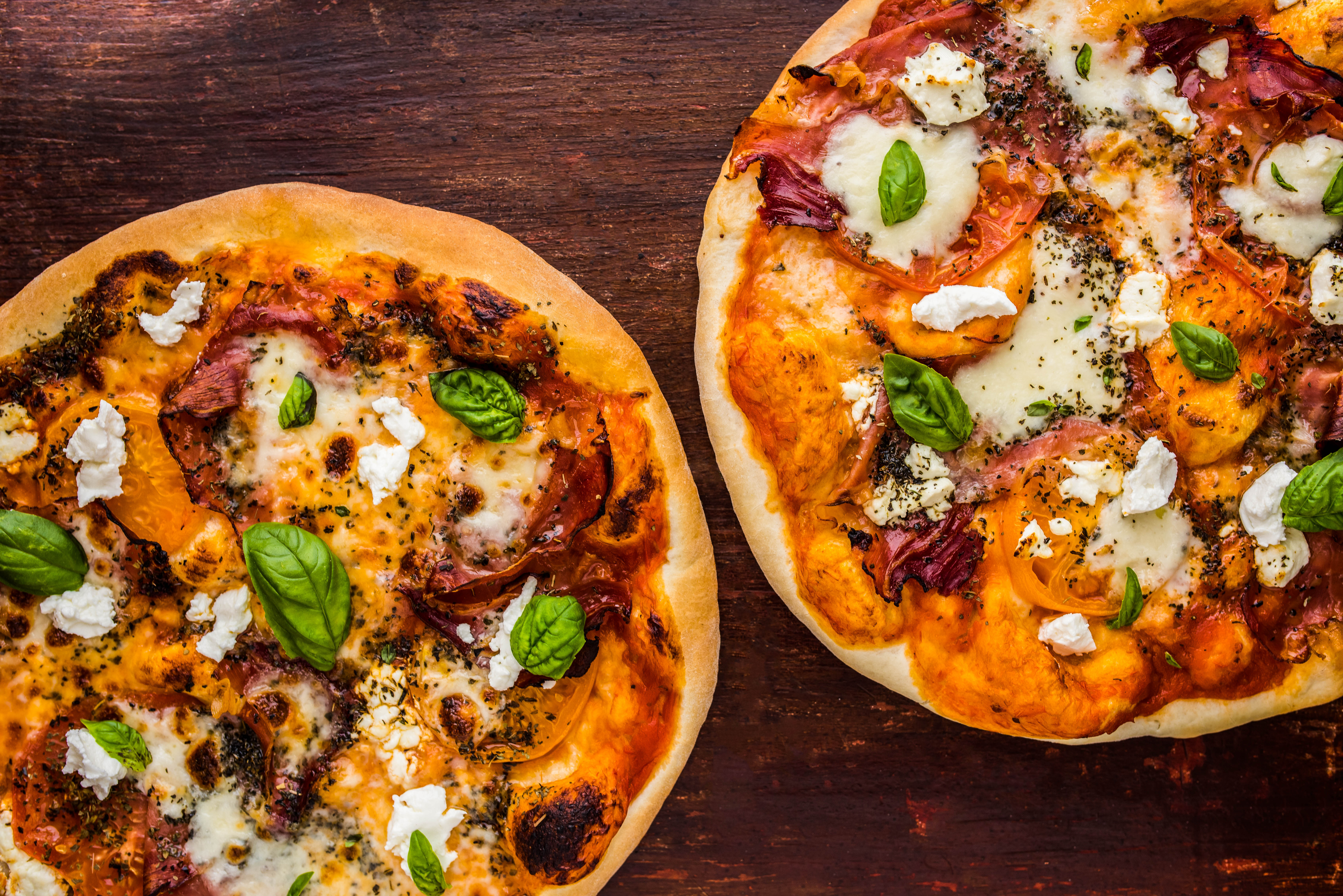 Speck, Goats Cheese, and Heirloom Tomato Pizza | Dennis ...