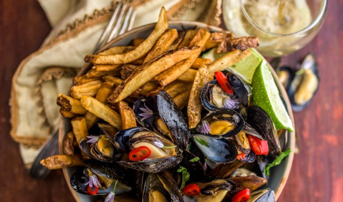 Moules-frites.