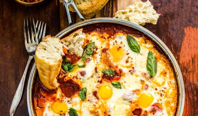 Eggs in CheesyPurgatory