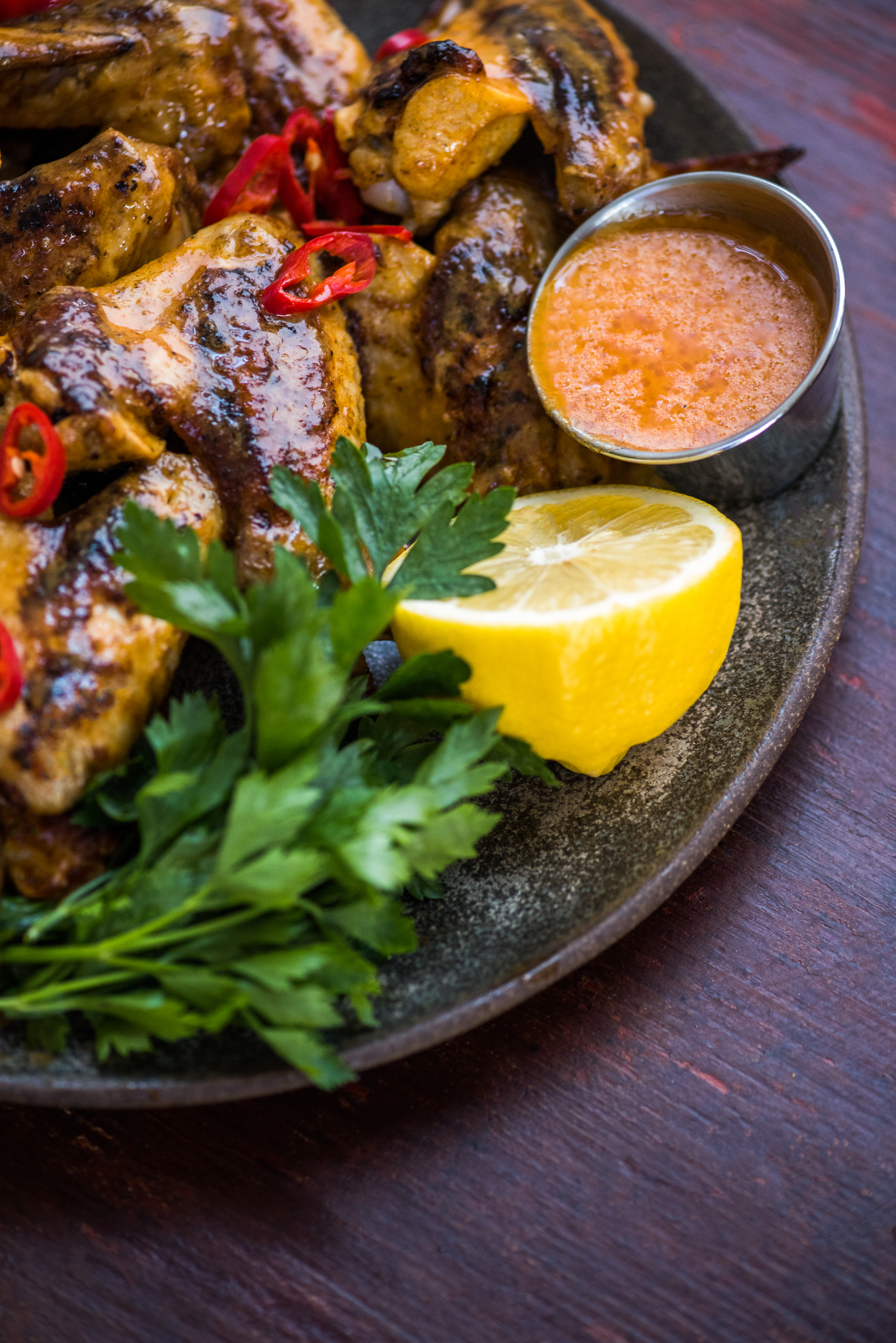 Grilled piri piri chicken wings dennis the prescott it was like a five week long cultural and food exchange traveling around southern forumfinder Choice Image