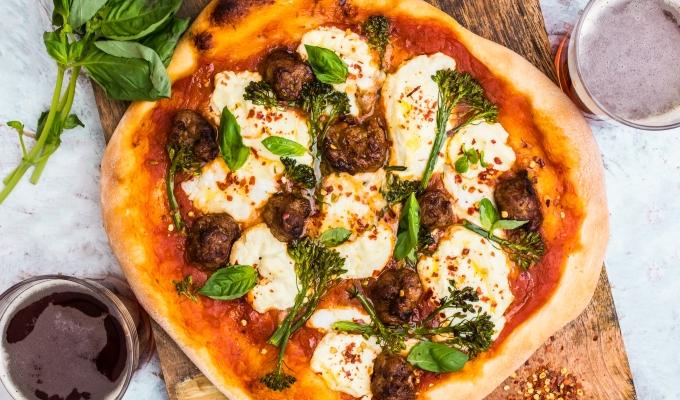 Sausage Ricotta & BroccoliniPizza