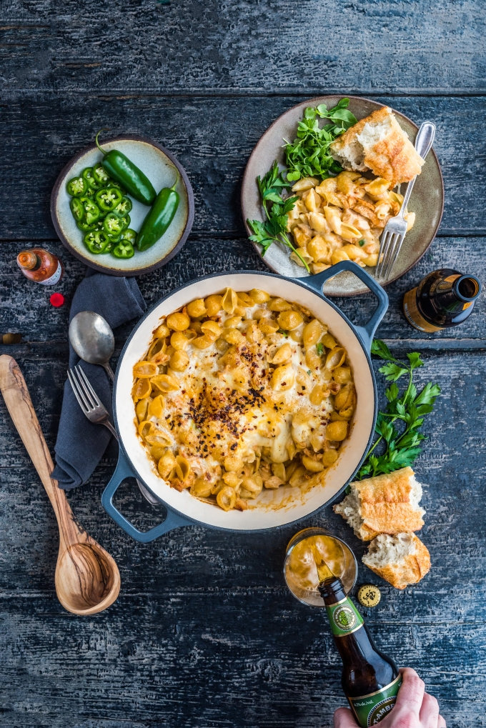 Pulled Chicken Mac &Cheese