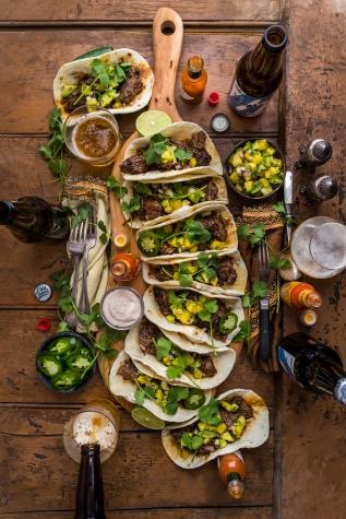Barbacoa Beef Tacos with HomemadeTortillas